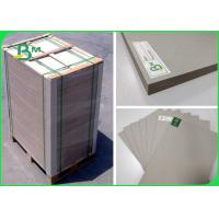 China 31 x 43inch Plain Grey Board 1.0 To 3.0MM Two Sides Grey For Bag 's Lining wholesale