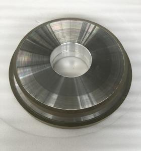 China Abrasive Grit Resin Bonded Diamond Grinding Wheels Flat CBN Hole 127mm Width 10mm wholesale
