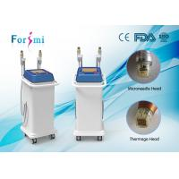 China Fractional RF Microneedle Machine for face lifting and acne scarring treating wholesale