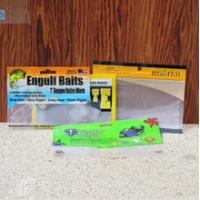 China fish bait packing bag with zip lock , fishing lure bags wholesale on sale