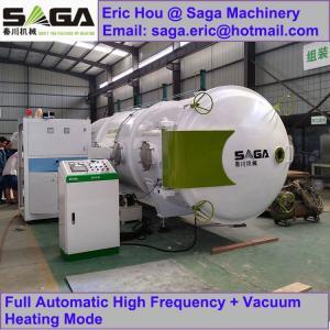 China Microwave Vacuum Wood Drying Machine High Frequency Lumber Dryer Kiln wholesale
