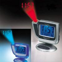 China Desktop Projection Radio Alarm Clock with Thermometer on sale