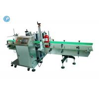 China Automatic Round Pail Bottle Label Applicator Machine , Plastic / Glass Label Machine on sale