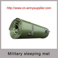Army Green Waterproof Nylon military sleeping mat with good quality EVA Manufactures