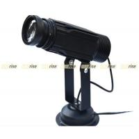 China Professional Gobo Projector Light With Logo Projection , Rotating Speed Adjustable wholesale