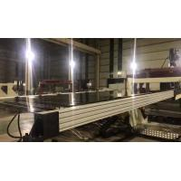 China Acrylic Plastic Sheet Extrusion Machine Rigid Strong Structure Smooth Running on sale