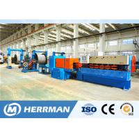 China 1200rpm Interlock Cable Armouring Machine For Flat Submersible Oil Pump Cable wholesale