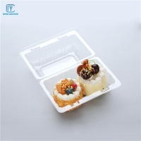 China Food Packaging 15x10.5x8cm Disposable Plastic Fruit Containers on sale