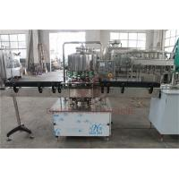 China 500 - 1000 BPH CSD Beverage Filling And Capping Machine For Plastic Bottle Water Juice wholesale