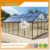 China Aluminum Greenhouse-Titan series-606X406X273CM-Green/Black Color-10mm thick PC wholesale