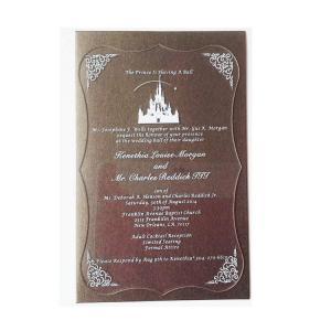 China Clear Acrylic Display Frame Black Custom Acrylic Wedding Invitation Card wholesale