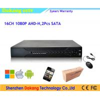 China AHD 1080P 16 Channel Digital Video Recorder For CCTV Camera System wholesale