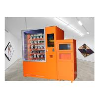 China 24 Hours Fast Food Vending Machine With Microwave Oven And Refrigerator wholesale