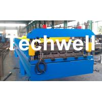 China 3 Kw Hydraulic Motor Power Trapezoidal Roofing Sheet Roll Forming Machine TW-RWM wholesale