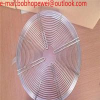 China round fan protection guard grid/120mm Metal Fan Grill Cover Radiating Protective Cover Net Filter Guard 120mm*120mm wholesale