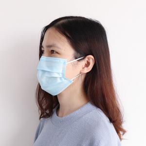 China Facial Contour Disposable Dust Mask , Disposable Earloop Face Mask Comfortable wholesale