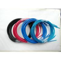 China Colorful Wire Rope Assembly , Wire Rope And Fittings Black /  Red / Blue Vinyl / PVC / PU / PA wholesale