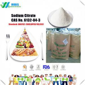 China Quality Food additives sodiumcitrate/ TrisodiumCitrate  CAS6132-04-3Free Sample wholesale