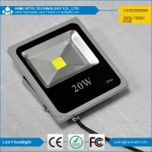 China Outdoor Square IP65 20W Ultra thin LED Flood Light /led flood lighting on sale