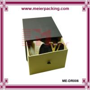 China Bulk Sales Custom textured paper sliding Drawer Packaging cardboard box for Leather belt wholesale