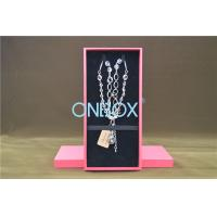 Buy cheap SAP51354 Cardboard Necklace Box In Packer Design In Specialty Paper from wholesalers