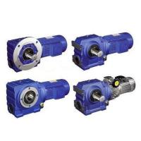 China Helical Worm Gear Reducer Alloy Steel 40Cr Material With Electric Motor wholesale