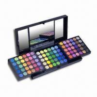 China 180-color Makeup Eye Shadow Palette with Mirror and Plastic Box on sale