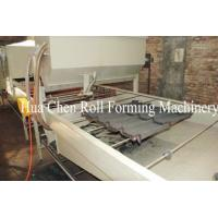 China Color Steel Stone Coated Roof Tile Machine Line on sale