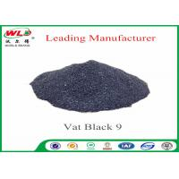 China RB C I Vat Black 9 Vat Direct Black Fabric Dye For Cotton Heat Resistant wholesale