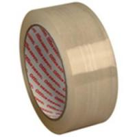 Low noise transparent self adhesive tape