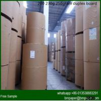 China 250/300/350 two sides coated duplex board paper wholesale