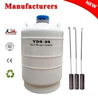 China TIANCHI Liquid Nitrogen Flask 35L Cryogenic Dewar Tank Animal Husbandry wholesale