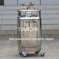 China TianChi YDZ-100 self-pressured cryogenic vessel price in PL wholesale