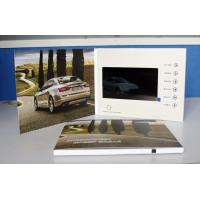 """China Personalized Invitation Video Card 4.0"""" / 5.0"""" / 7.0"""" For Advertising , promotion wholesale"""