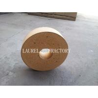 China Round Fire Clay Brick with Good Thermal Shock Resistance for Pizza Oven wholesale