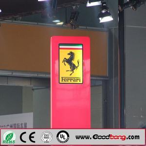 China Professional Custom Round Shape Acrylic Sheet Vacuum Moulding Car Logo Signs; wholesale
