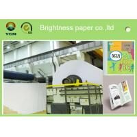 China A4 Compatible Offset Printing Paper / Book Printing Paper High Brightness wholesale