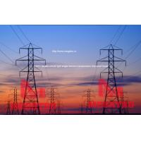 China 230KV double circuit light angle tension transmission line steel tower wholesale