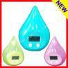 China Water-drop Shape Water Powered Clock wholesale