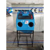 China Manual Wet Sandblasting Cabinet Power Supply 220V / 50HZ Corrosion Resistant wholesale