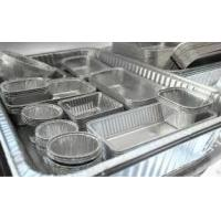 China Alloy Household Disposable Thick Aluminium Foil Tray Container Food wholesale