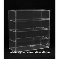 China Transparent 4 Tier Acrylic Display Box Made In China wholesale