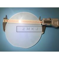 China Dia 150 Mm Sapphire Windows / Sapphire Crystal Glass Extreme Surface Hardness wholesale
