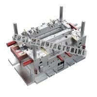 China Good Price Precision Air Condition System Plastic Injection Mold Maker wholesale