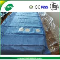China disposable Cardiac&Angiography drape sheet surgical product EO sterile wholesale
