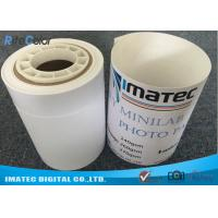 Buy cheap Dry Minilab Photo Paper for Epson , 240gsm Semi Glossy Luster RC Inkjet Photo Paper Roll from wholesalers