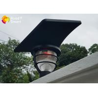China Rohs CE COC Solar Powered Pole Lights Garden Mailbox Lamp With Lithium - Ion Battery wholesale