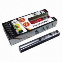 China New Arrival A4 Size Wireless Portable Scanner with 900dpi High Resolution wholesale