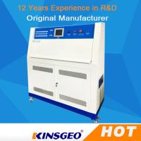 China PID SSR Control QUV Accelerated Weathering Environmental Test Chamber With Stainless Steel Plate wholesale