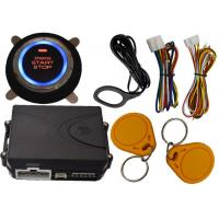 Remote Car Engine Start Stop System By Alarm Remote Control RFID Arm Or Disarm Car Engine Manufactures